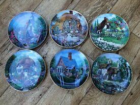 6 Lilliput plates