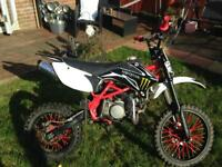 140 stomp big wheel pitbike