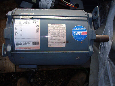 A . O . Smith 20 Hp , S256T , 200 Volt Motor , (T1)