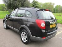 2008 08 CHEVROLET CAPTIVA 2.0 LT VCDI AUTO 7 SEATER FULL MOT CAMBELTED FSH 1 FORMER KEEPER PX SWAPS