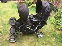 """""""Graco Stadium"""" Double Pushchair Pram in Crouch End"""