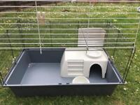 Guinea pig or a large cage for a hamster now sold