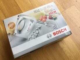 Brand New in Box - unwanted Bosch 'Clever Mixx' 350W hand mixer MFQ3030GB