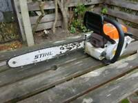 Stihl saw 028 chainsaw delivered today