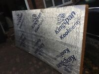 Kingspan/celotex/PIR insulation 75mm 8x4