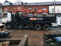 Grab hire,muck away and aggregates Service.birminham And Black Country and all surrounding areas