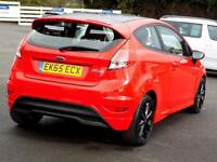 FORD FIESTA 1.0 ZETEC S RED EDITION 3dr 139 BHP ** Bluetooth + (red) 2015