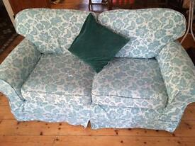 Small two seater sofa