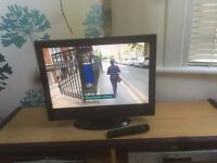 "Acoustic Solutions s 22"" LED Tv with freeview"