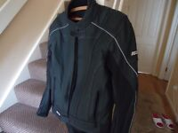 Motorbike Leather Jacket new size L