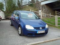 Golf 1.9 TDI part ex Bargain