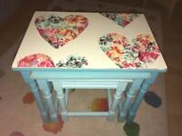 Nest tables. Shabby chic