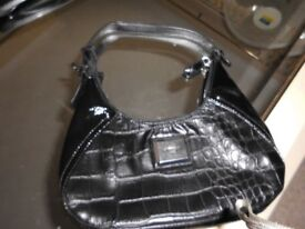 Florelli Black Small Handbag