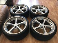 "21"" AC Schnitzer Type IV Racing Wheels BMW M5 M6 5 6 Series"