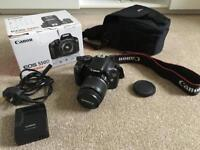 Canon 550D kit with carry bag