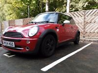 MINI COOPER 1.6, 2004, 121,000, 3 DOOR, RED, PETROL, MANUAL