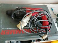 Cordless and corded Drills,