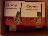 NEW 8 X QuikTrak QT6010 Radio Advanced Communication Networks Handset