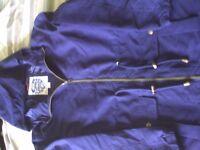 NEW, Ladies Navy Parka, size 10