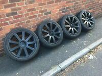 """19"""" Audi Vw alloy wheels 5x112 - 5x100"""