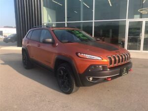 2015 Jeep Cherokee Trailhawk, Loaded, Remote Start, NAV