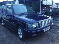 2002 RANGE ROVER VOGUE OVERFINCH MODEL AUTOMATIC LOADS OF SERVICE HISTORY SAT NAVIGATION VGCONDITION