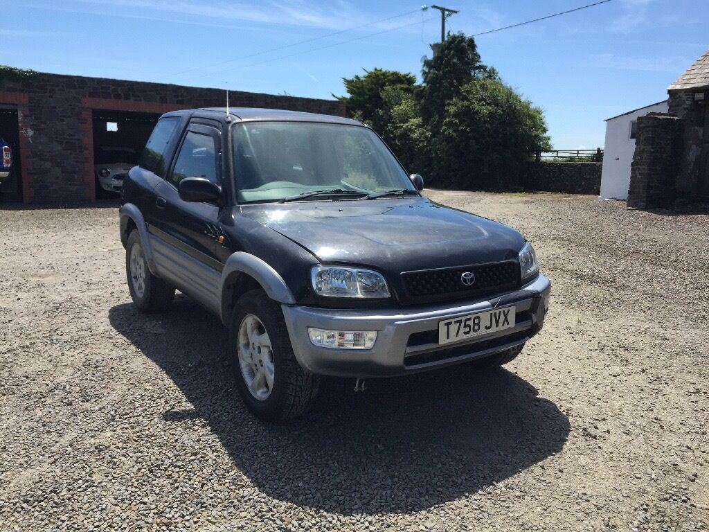 1999 toyota rav4 free sport low miles 4x4 2 litre petrol in bude cornwall gumtree. Black Bedroom Furniture Sets. Home Design Ideas
