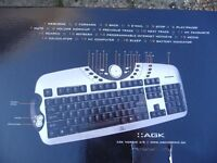 AGK wireless keyboard and mouse