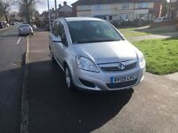 Vauxhall zafira low millig hpi clear 59 plate 7 seater diesel