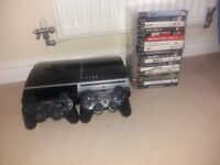 PS3 with extras