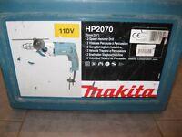 Makita HP2070 2 speed hammerdrill, 110V, 13mm chuck