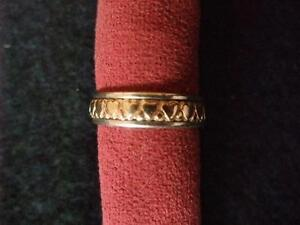14K Gold and Sterling Silver Heart Design Ring by James Avery