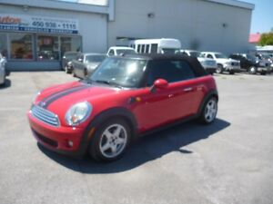 2009 Mini Cooper décapotable DECAPOTABLE