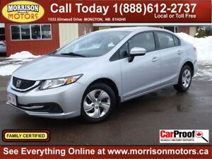 2015 Honda Civic LX *NO DOC AND ADMIN* Only 34k!