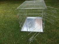 Dog or puppy training crate