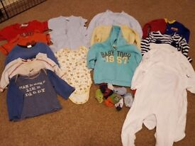 Baby boys clothes 6-9 months in great condition