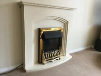 Fireplace Suite- Alan Truro Electric. QUICK SALE REQUIRED. Collection only