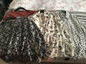 Huge bundle of ladies clothes, size 10.