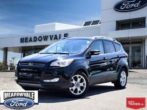 2016 Ford Escape TITANIUM, LEATHER, SUNROOF, NAVIGATION