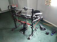 Yamaha DTXPress II electronic drum set