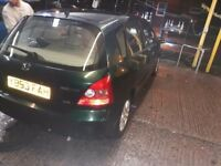 Honda civic 1.6 automatic long mot