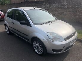 2005 FORD FIESTA 1.25 STYLE CLIMATE SILVER 3DR HATCHBACK