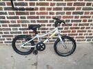 Ridgeback MX 16 Terrain Silver, lightweight and durable,Unisex Kids Bike fully working