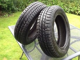 For Sale Two Radial Tyres ST196