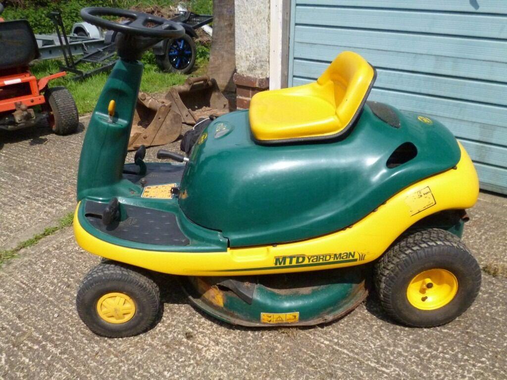 Mtd Yardman Tractors : Mtd yardman dx beetle lawn bug ride on mower