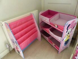 Girls toy storage
