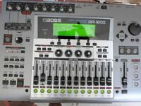 Boss BR1600CD 80GB 16 Track Recorder. PRICE REDUCED. Condition almost like new