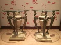 Egyptian Style Side Tables x 2