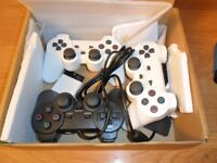 3 x Shock Game Controllers for Sony Playstation2