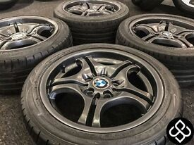 "NEW GENUINE BMW 17"" ALLOY WHEELS - 5 X 120 - Wheel Smart"